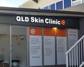Clinic Storefront Sign Facade Signgae