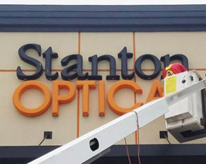 Large Store Building Sign Letters