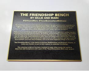 Etched Brass Plaque Signs Museum School Metal Plaques Manufacturer